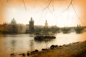 on the Vltava